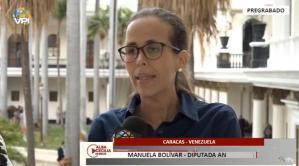 Manuela Bolívar: Estamos evaluando los mecanismos para lograr el ingreso de la ayuda que está en Cúcuta