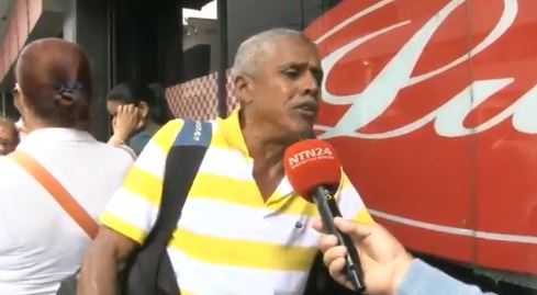 Las Miserias de Maduro: Señor indica que come mango en la mañana, tarde y noche (VIDEO)