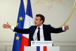 Macron dice que explosión en Lyon fue un ataque, sin víctimas mortales