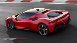 """Ferrari presenta su primer vehículo híbrido de calle: El """"SF90 Stradale"""" con 4 motores y 1000 caballos de fuerza (UFFF)"""