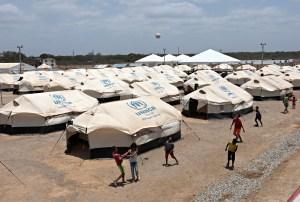 Campamento de la ONU ofrece alivio temporal a inmigrantes venezolanos en Colombia