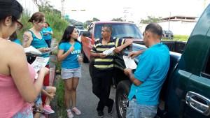 Vente  Mérida recorrió estaciones de servicio del Municipio Libertador