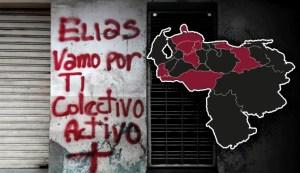 Colectivos amenazan a líderes políticos de Venezuela con grafitis (LAS FOTOS)