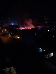 Reportan fuerte incendio en las cercanías de Mariperez (FOTO y VIDEO)