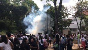 Grupos armados atacan proceso de inscripción de planchas electorales en la UCV