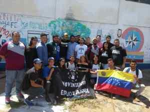 Movimiento Estudiantil en Ciudad Bolívar rinde homenaje a Augusto Puga