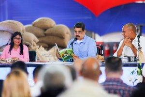 Maduro hace una nueva pataleta por los bloqueos impuestos de EEUU (Video)
