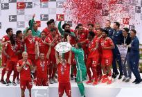 El Bayern sella su séptima Bundesliga y dice adiós a Robben y Ribery