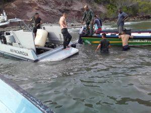 Publican lista de las personas desaparecidas en naufragio que viajaba de Güiria a Trinidad
