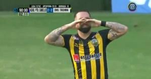 Esta gloria Vinotinto entre LÁGRIMAS celebra este GOLAZO espectacular frente al equipo de su padre (VIDEO)