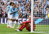 Guardiola y el City completan un triplete histórico