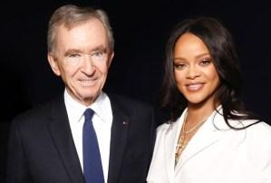 Rihanna se convierte en la primera mujer negra en presidir una colección de lujo por LVMH