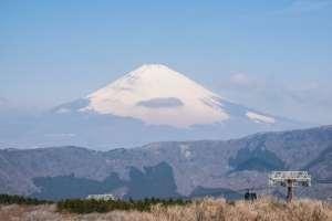 Cerrados los accesos al turístico monte Hakone de Japón
