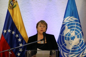 Bachelet denuncia que hay un patrón de detenciones arbitrarias, torturas y desapariciones forzadas en Venezuela