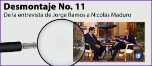 Desmontaje de las fake news del régimen de Maduro (Parte XI)