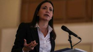 María Corina Machado: Me alegra muchísimo que Leopoldo López pueda reencontrarse con su familia