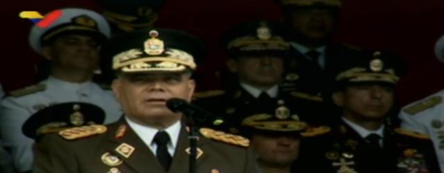 Vladimir Padrino López. Captura de pantalla.