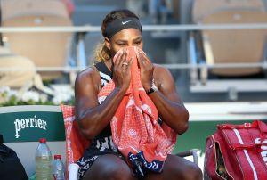 Serena Williams se retira de Roland Garros por lesión en el tendón de Aquiles
