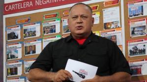 """La """"advertencia"""" de Diosdado Cabello a Alberto Fernández (VIDEO)"""