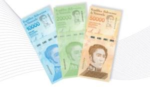Régimen incorpora tres nuevos billetes al Cono Monetario