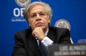 Almagro: Esta resolución es un paso más para que Venezuela recupere la democracia