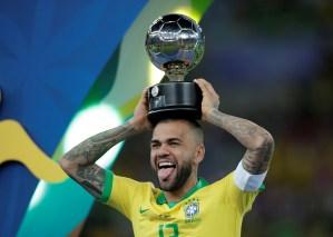 Brasil convoca a Dani Alves para los Juegos Olímpicos y deja fuera a Neymar