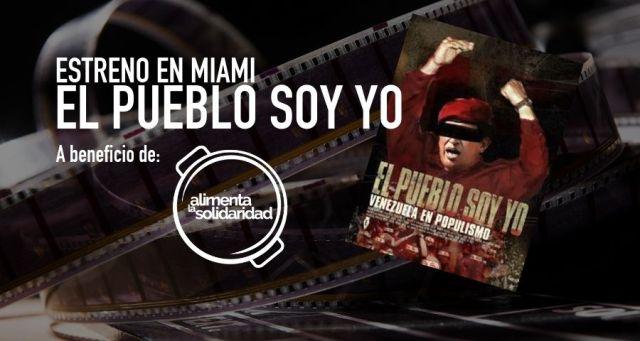 Documental El Pueblo Soy Yo será presentado en Miami. Imagen cortesía.