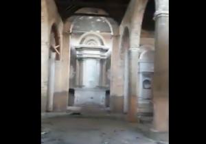 """Iglesia abandonada en Maracaibo es invadida por delincuentes y usada como """"baño"""" (VIDEO)"""