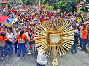 Este #2Jul se celebran los 120 años de la Consagración al Santísimo Sacramento del Altar en Venezuela