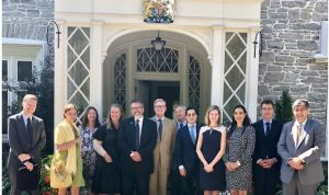 Embajadores venezolanos conversaron con la Alta Comisionada del Reino Unido en Canadá