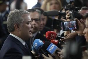 Iván Duque afirma que el narcotráfico quiere poner alcaldes y gobernadores