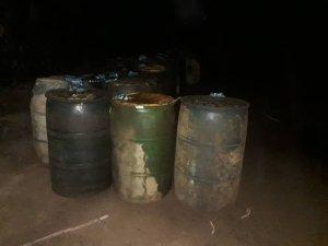 GNB incautó combustible en un depósito clandestino en el estado Zulia (FOTOS)