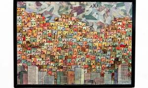 Ciudad devaluada: La INCREÍBLE obra venezolana con los billetes fuera de circulación