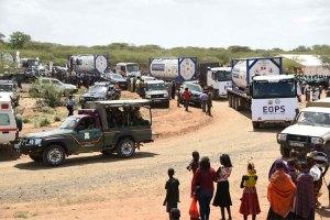 Kenia hace sus primeras exportaciones de petróleo. Su PIB per cápita se acerca al de Venezuela