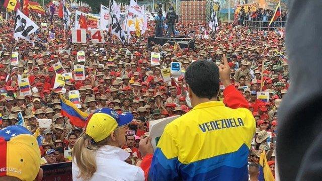 Nicolás Maduro, imagen cortesia Psuv.