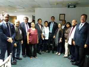 Copei legítimo ODCA junto a partidos del frente amplio se reunieron con el Presidente(e) Guaidó