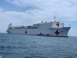 Diputado Olivares: Estamos trabajando para que podamos tener el USNS Confort en el Puerto de La Guaira