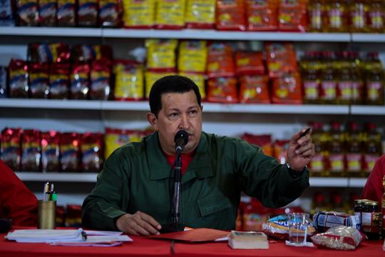 Hugo Chávez, imagen archivo.