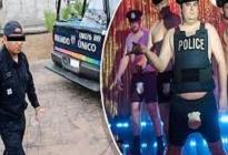 Policía fue a atender reportes en una fiesta gay y creyeron que era un stripper parchita