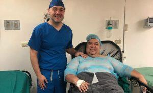 Neguito Borjas agradece el éxito de su cirugía bariátrica (FOTO)