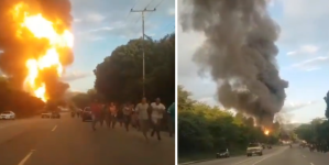 Caos y desesperación en Ocumare del Tuy tras explosión de llenadero de gas #24Ago (Fotos y Videos)