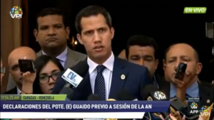 Guaidó desde la AN: Es la primera vez que vemos el desastre del régimen en sus declaraciones