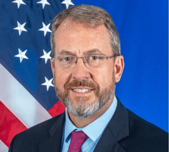 James Story, encargado de EEUU sobre los asuntos de Venezuela, foto cortesía.