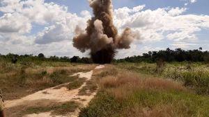 ¡Guerra a la droga! Al menos diez pistas clandestinas han destruido en Zulia (Fotos)