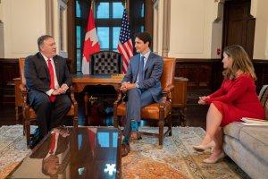 Pompeo agradece a Canadá por su ayuda a una transición pacífica y democrática en Venezuela