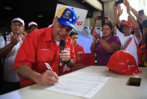 Quevedo admite que la producción de Pdvsa sigue en picada pero culpa a Trump