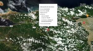 Se registra sismo de magnitud 3.3 al sur del estado Sucre