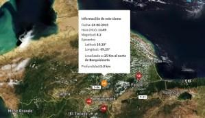 Sismo de magnitud 4.2 se registró en Barquisimeto