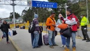 Advierten de incremento de venezolanos en paso fronterizo hacia Ecuador