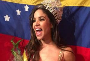 Anaís Díaz, primera venezolana de la diáspora que se lleva la corona en el exterior